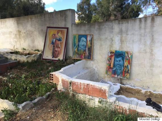 art cimetière