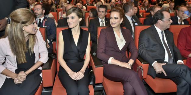 La princesse Lalla Salma participe au Congrès mondial contre le cancer à Paris