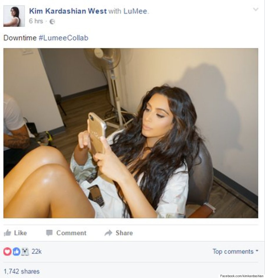 Facebook Kim Kardashian