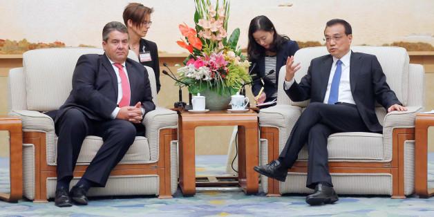 Gabriels China-Reise: Schon der erste Termin wurde zum diplomatischen Desaster