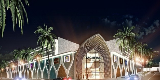 Tachfine Center, nouveau centre commercial de Marjane Holding à Casablanca