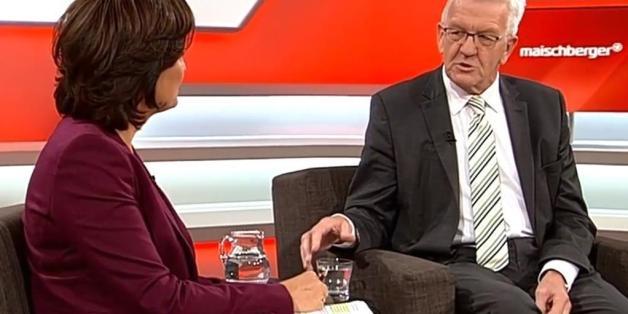 """Winfried Kretschmann bei """"Maischberger"""""""