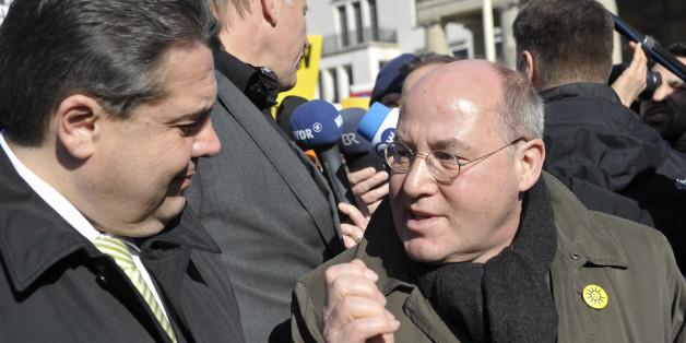 Sigmar Gabriel und Gregor Gysi