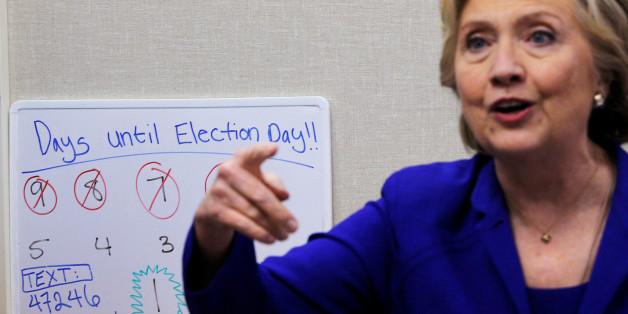 Hillary Clinton liegt in Umfragen wieder vorne