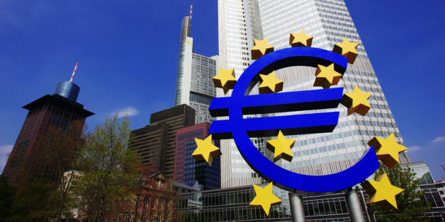 Germany, Frankfurt, European Central Bank, low angle