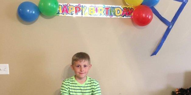Mahlon Lane musste seinen Geburtstag alleine feiern - keiner seiner Freunde kam zu seiner Party.