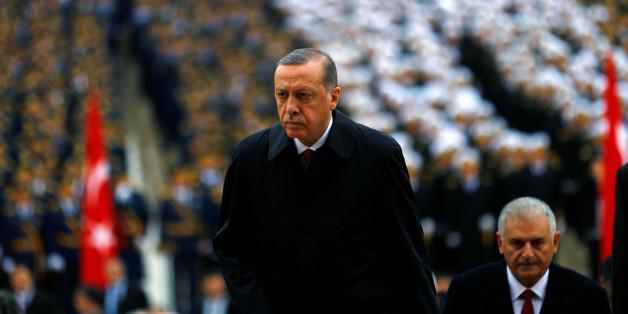 """Präsident Erdogan wirft Toprakt """"Kriegstreiberei und Faschismus"""" vor"""