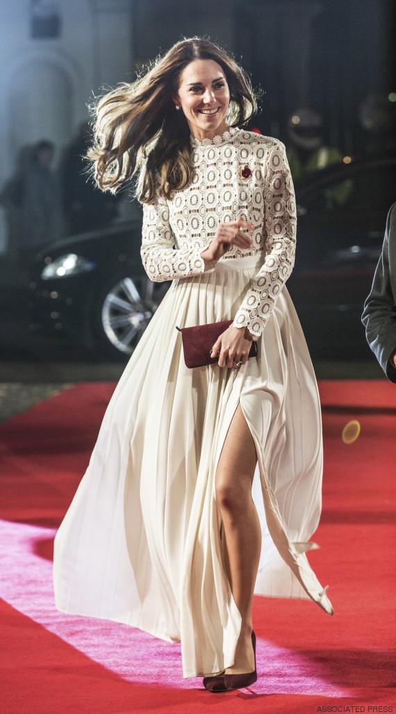 La robe blanche de kate middleton