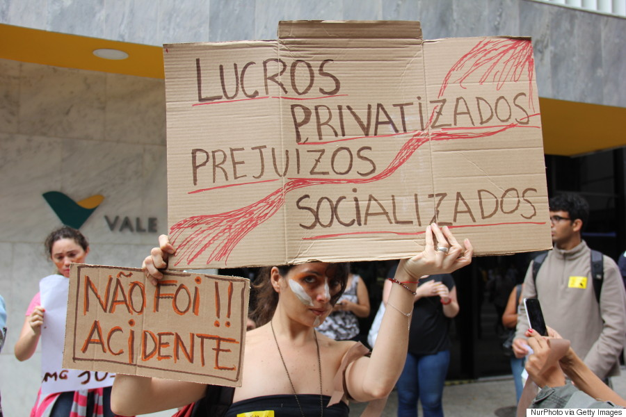 samarco protests