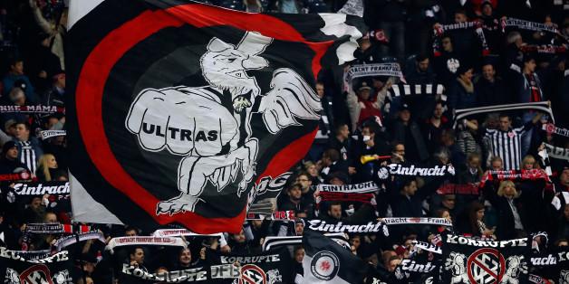 Fans der Eintracht Frankfurt am 25. Oktober im Bundesligaspiel gegen den FC Ingolstadt 04