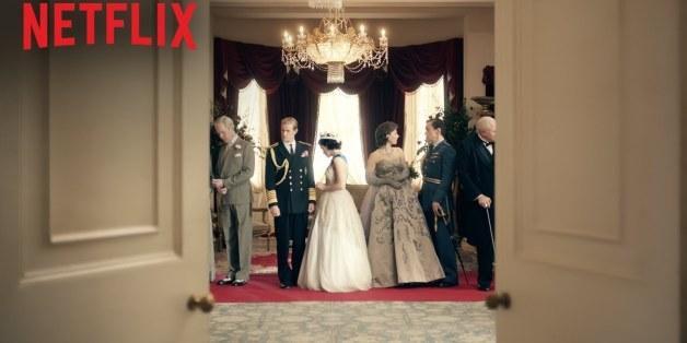 """Elisabeth II. wird mit gerade einmal 25 Jahren kurz nach dem 2. Weltkrieg zur Königin von Engliand - """"The Crown"""" ist neu auf Netflix"""