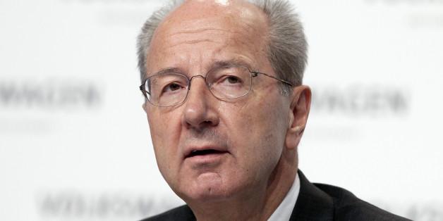 VW-Aufsichtsratschef Hans Dieter Pötsch