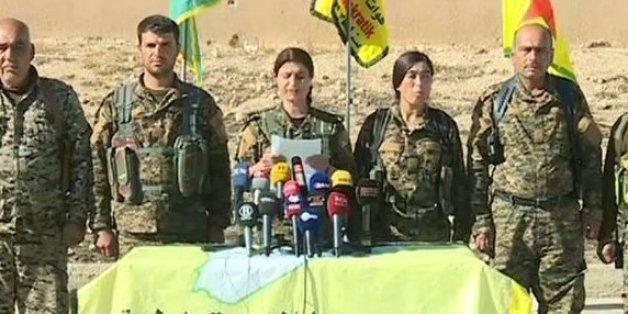 Die Pressekonferenz der SDF