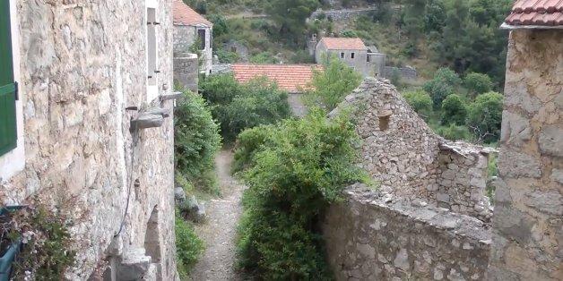 Das kroatische Dörfchen Malo Grablje ist seit 50 Jahren verlassen.