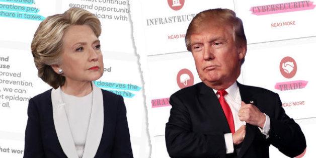 QUIZ - Hillary Clinton ou Donald Trump: qui a fait cette promesse en vue de l'élection présidentielle américaine?