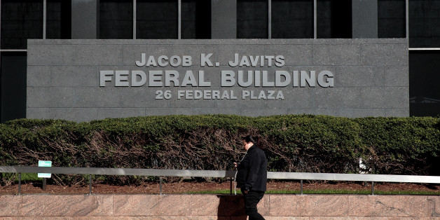 NEW YORK, NY - NOVEMBER 4: A view of the Jacob K. Javits Federal Building, where the Federal Bureau of Investigation (FBI) has a field office on the 23rd floor, November 4, 2016 in New York City. FBI Director James Comey informed Congress last Friday that his agency was taking steps to review newly discovered emails relating to Democratic presidential candidate Hillary ClintonÕs private email server. (Photo by Drew Angerer/Getty Images)