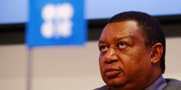 OPEC Secretary-General Mohammed Barkindo addresses a news conference in Vienna, Austria, October 24, 2016. REUTERS/Leonhard Foeger