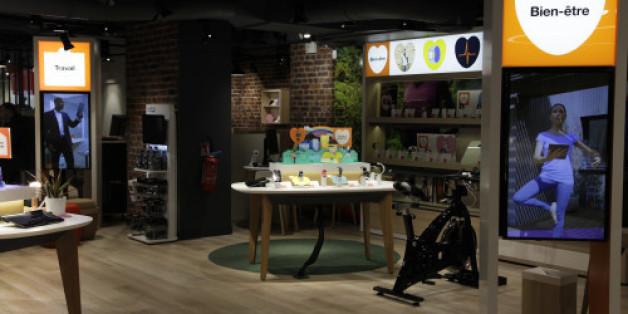"""""""Smart store"""", nouveau concept de boutique lancé par Orange en septembre 2015"""