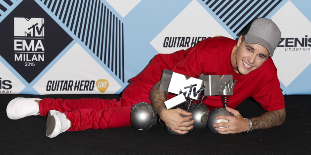 Justin Bieber räumte bei den MTV European Music Awards ab