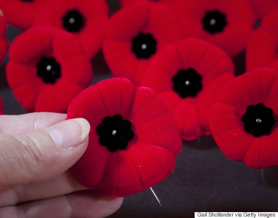 remembrance day poppies canada