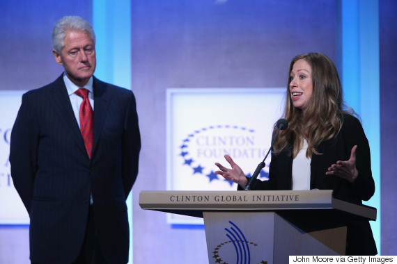 clinton foundation chelsea bill