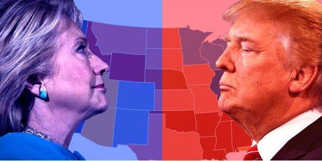 Élection présidentielle américaine: le programme heure par heure des résultats de la soirée électorale (et les indices sur une victoire de Hillary Clinton ou Donald Trump)