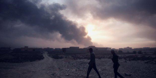 In der umkämpften Stadt Mossul soll der IS fast 300 Geiseln genommen haben