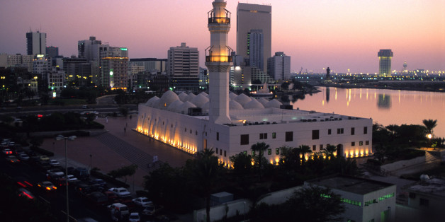 A view of Jeddah, Saudi Arabia.