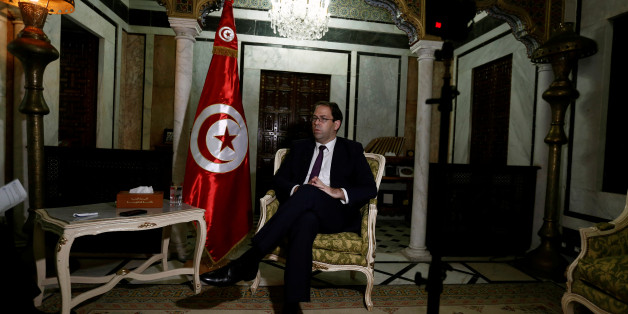 Tunisia's Prime Minister Youssef Chahed talks during an interview with Reuters in Tunis, Tunisia, September 29, 2016. REUTERS/Zoubeir Souissi