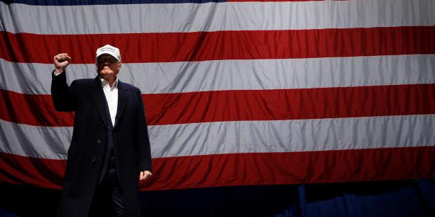 Donald Trump wird der 45. Präsident der USA
