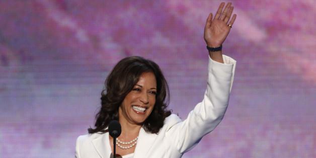 Kamala Harris wir zur ersten indischen Senatorin Kaliforniens gewählt.