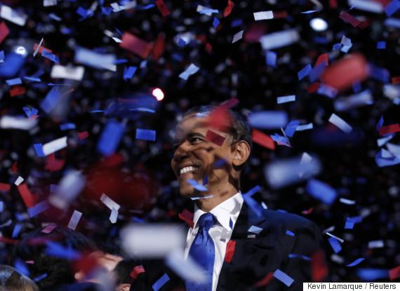 2008 obama celebrates