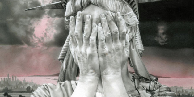 Tout le monde la partage depuis l'élections de Donald Trump, on a retrouvé l'origine de cette Statue de la Liberté en pleurs
