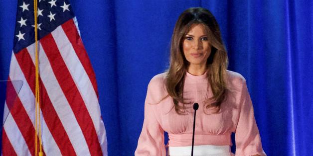 Melania Trump wird die nächste First Lady der Vereinigten Staaten von Amerika