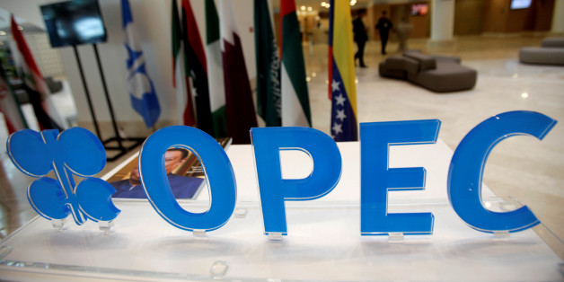 OPEC logo is pictured ahead of an informal meeting between members of the Organization of the Petroleum Exporting Countries (OPEC) in Algiers, Algeria September 28, 2016. REUTERS/Ramzi Boudina