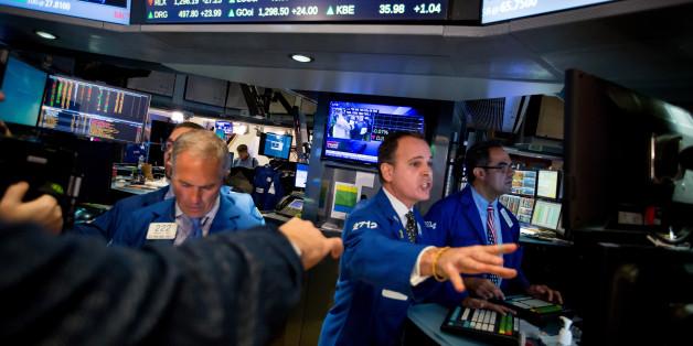 Der Dow Jones kletterte heute auf ein Rekordhoch