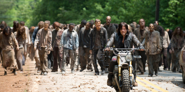 """In """"The Walking Dead"""" wollen Fans einen besonderen Zombie entdeckt haben: Donald Trump"""