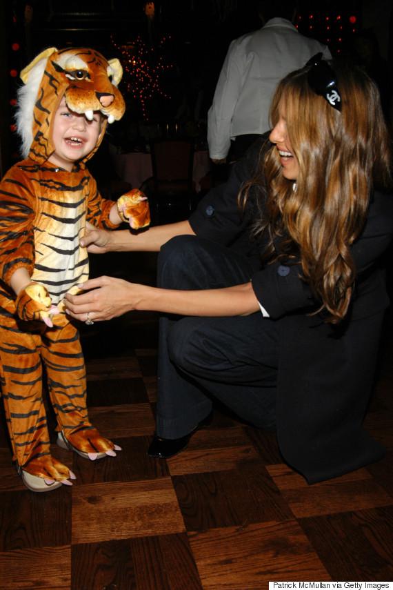 barron trump tiger