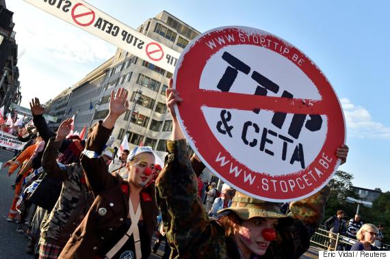 europe protests ceta
