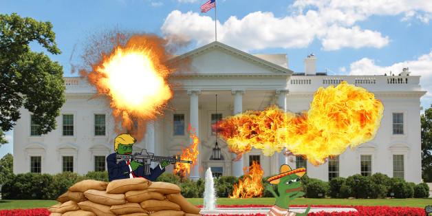 Les internautes imaginent la Maison Blanche du président Donald Trump