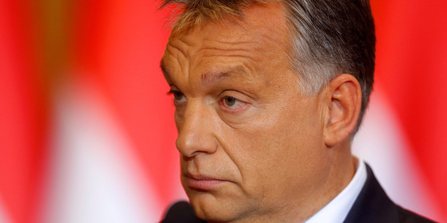 Hungarian Prime Minister Viktor Orban attends a news conference in Budapest, Hungary, October 4, 2016. REUTERS/Laszlo Balogh