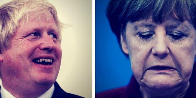 Boris Johnson riet Angela Merkel, nicht so weinerlich zu sein
