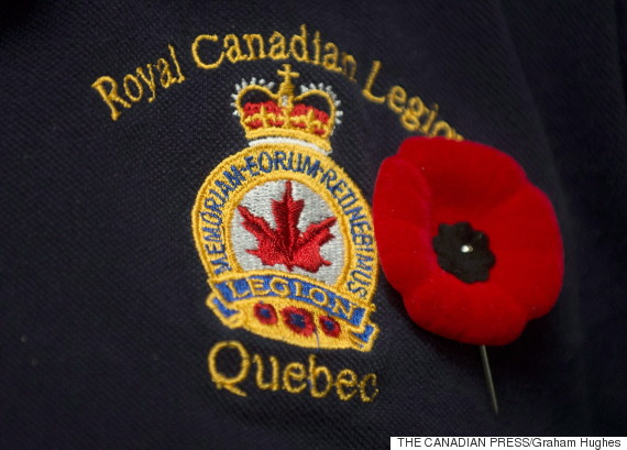 royal canadian legion poppy