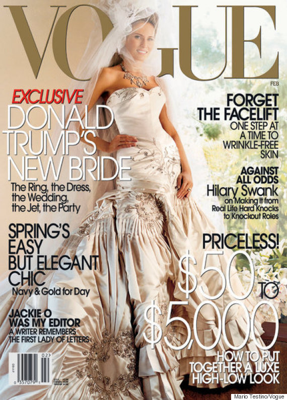 vogue melania trump