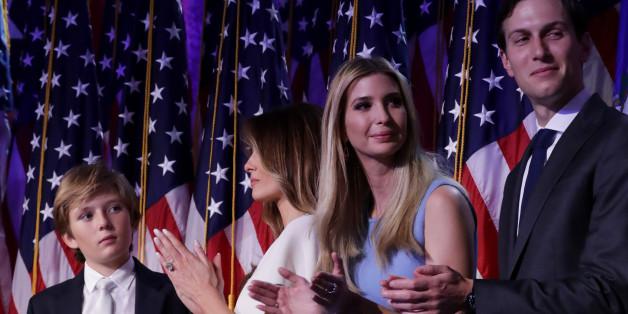Trump holt drei seiner Kinder ins Team für die Machtübernahme