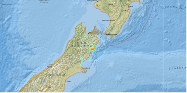 Un séisme de magnitude 7,4 secoue la Nouvelle-Zélande, alerte au tsunami