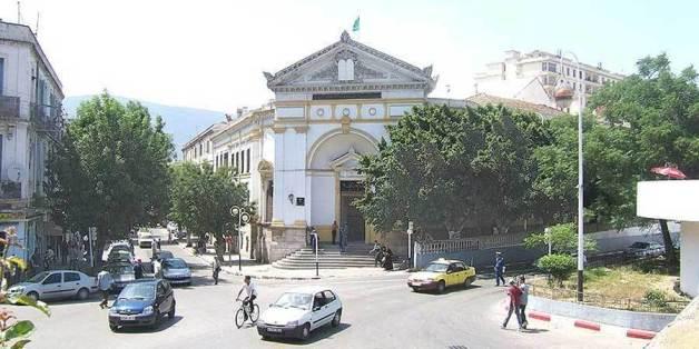 Une vue du palais de justice de Annaba