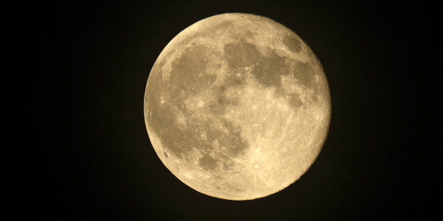 Super Moon which seems 14% bigger and 30% brighter than a normal full moon Dorset