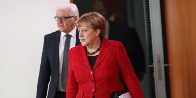 """Merkel über Bundespräsidenten-Entscheidung: Steinmeier ist ausgezeichnet geeignet"""""""