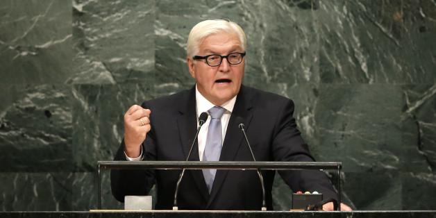 Außenminister Frank-Walter Steinmeier ist der Bundespräsidenten-Kandidat von SPD und CDU